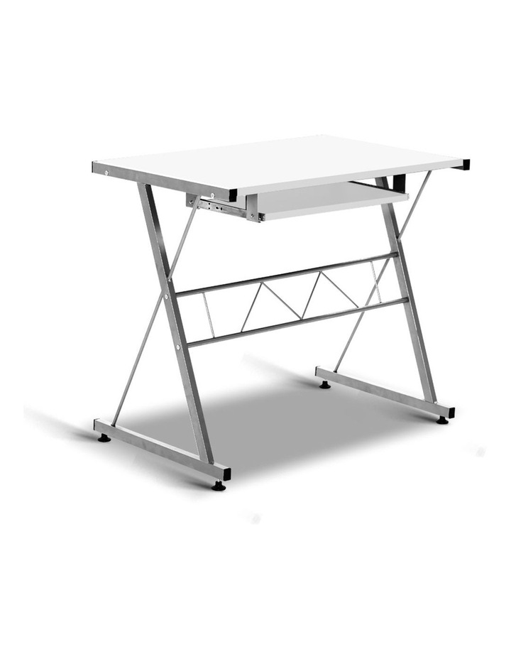 Corner Metal Pull Out Table Desk image 4