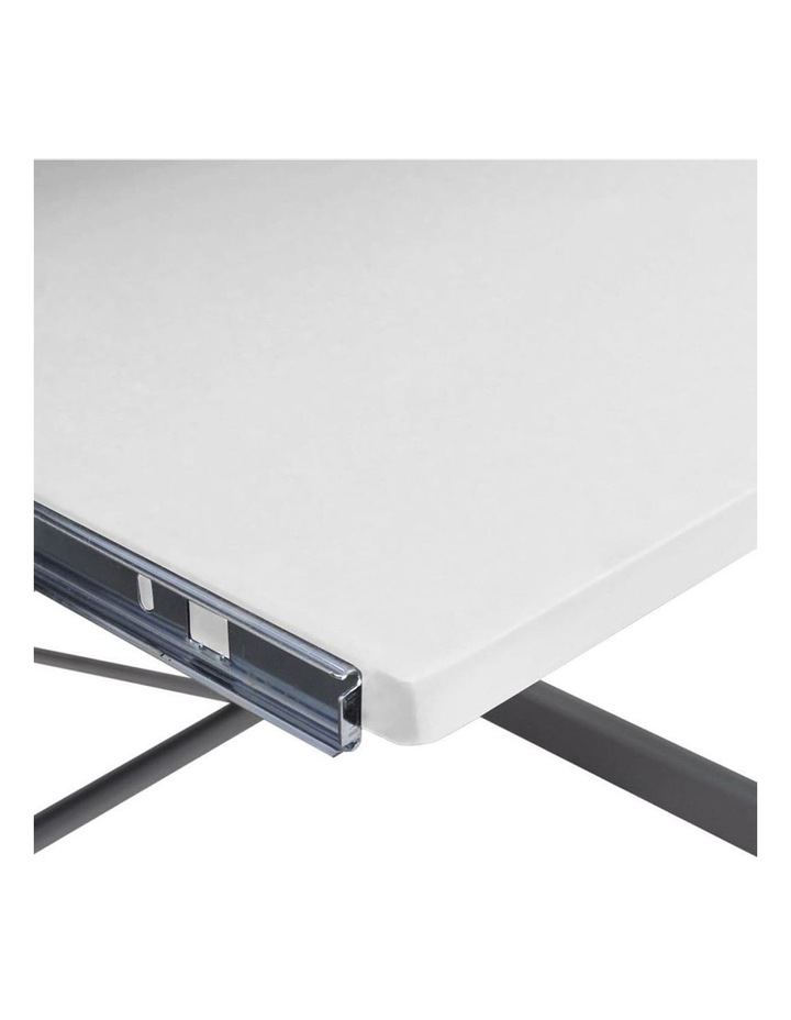 Corner Metal Pull Out Table Desk image 6