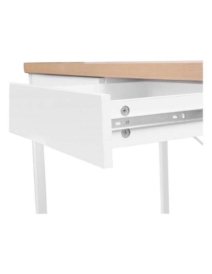 Metal Desk with Drawer image 6