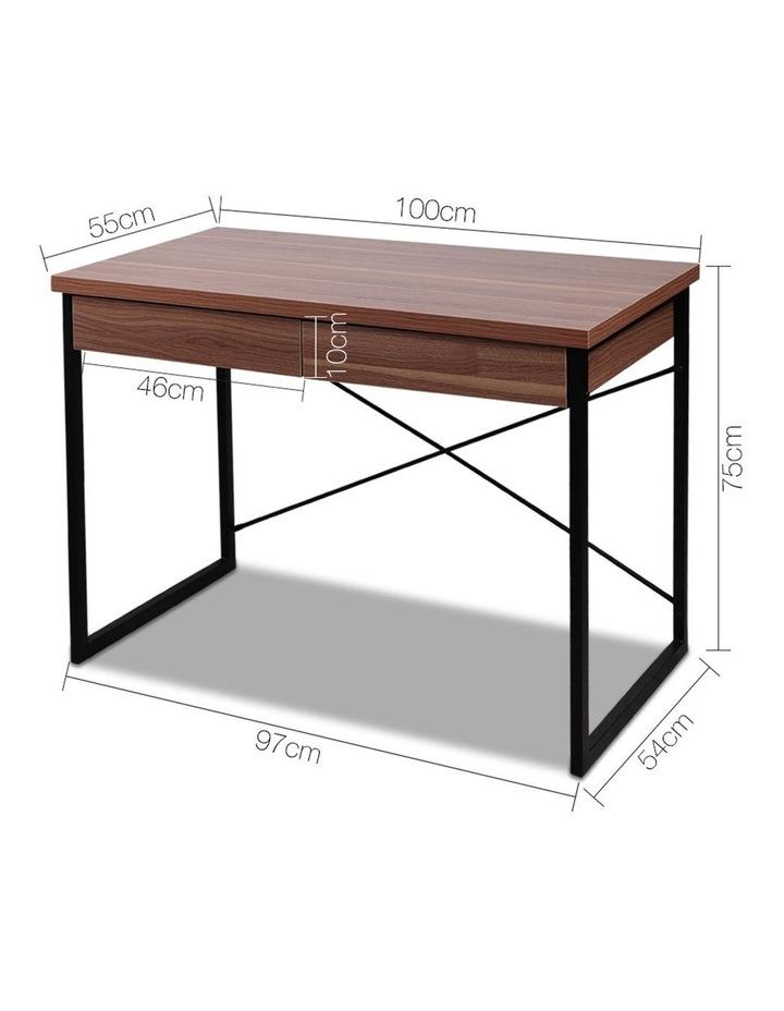 Metal Desk with Drawer image 2