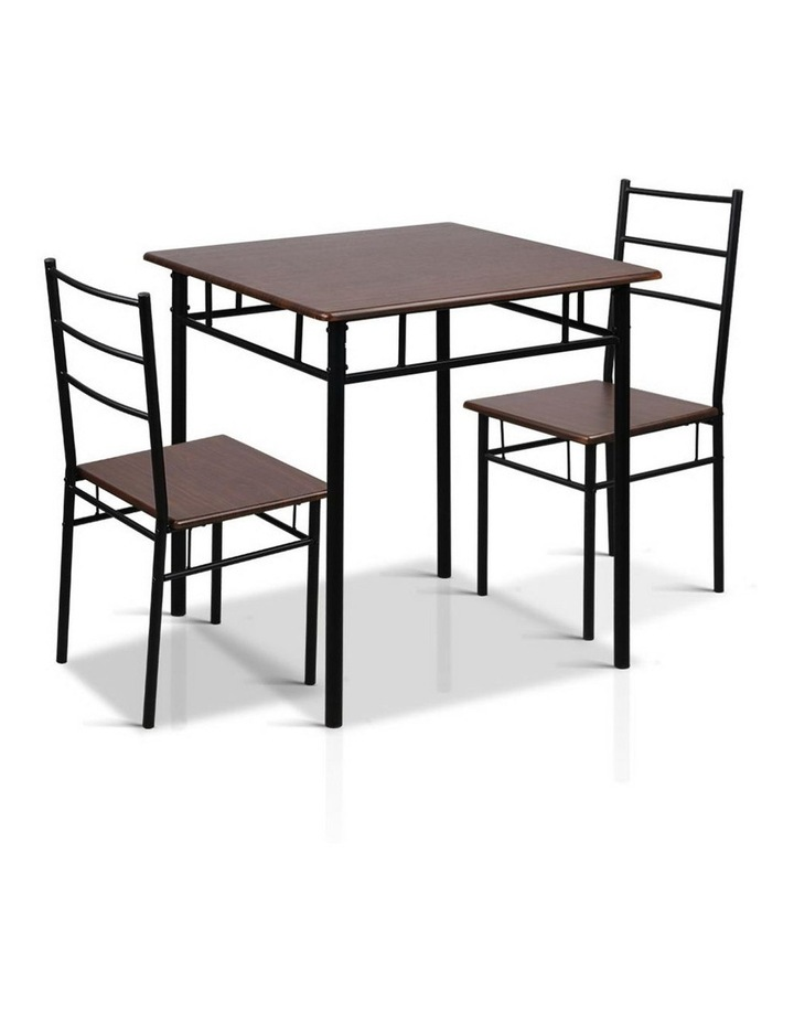 Metal Table and Chairs image 1