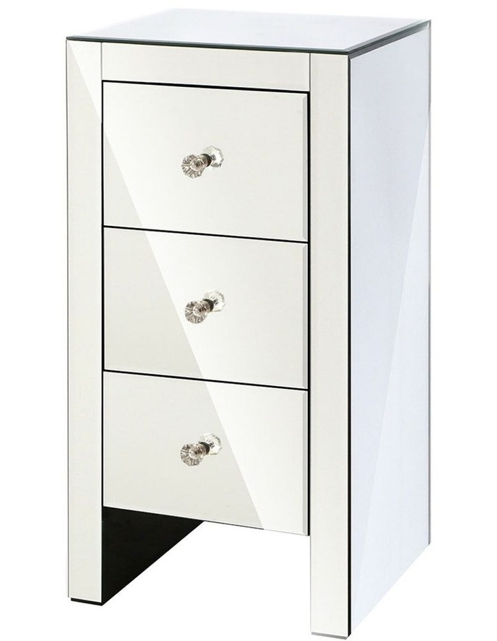 Mirrored Bedside Tables image 1