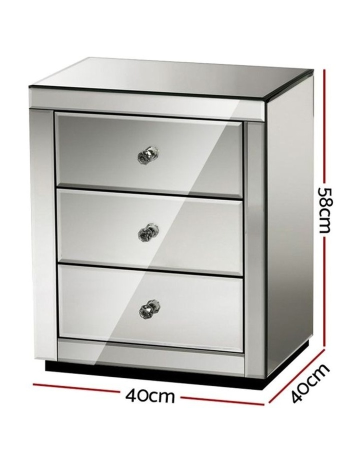 Mirrored Bedside tables image 2