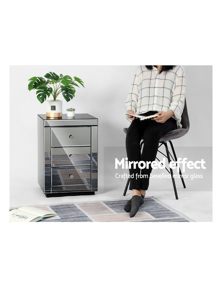 Mirrored Bedside tables image 4