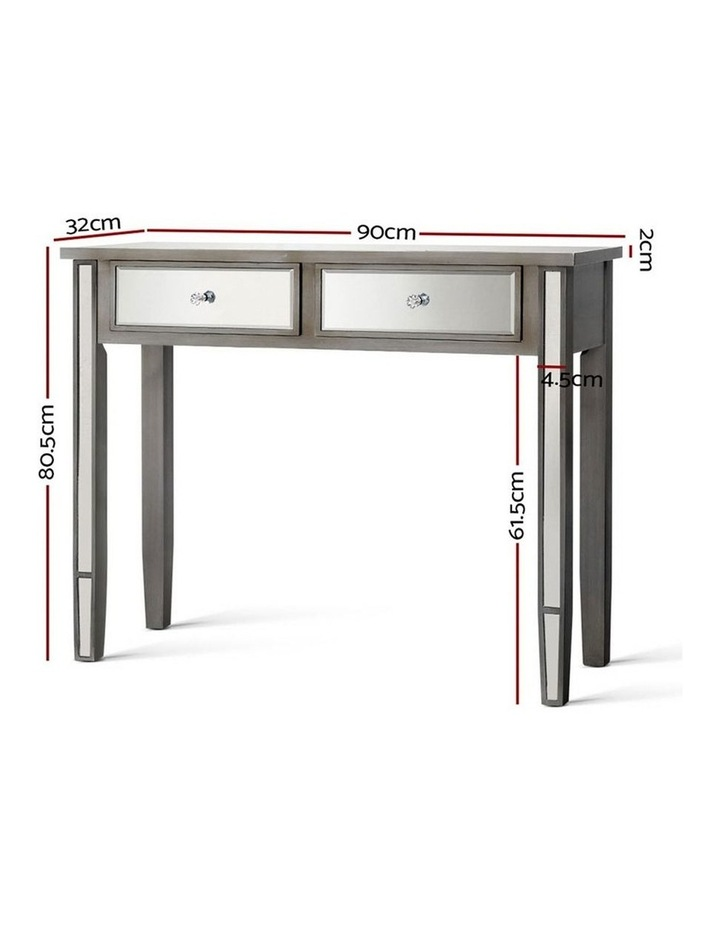 Mirrored Furniture Dressing Console image 2