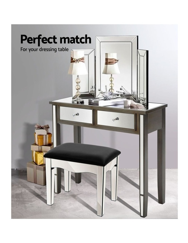 Mirrored Furniture Dressing Table image 4
