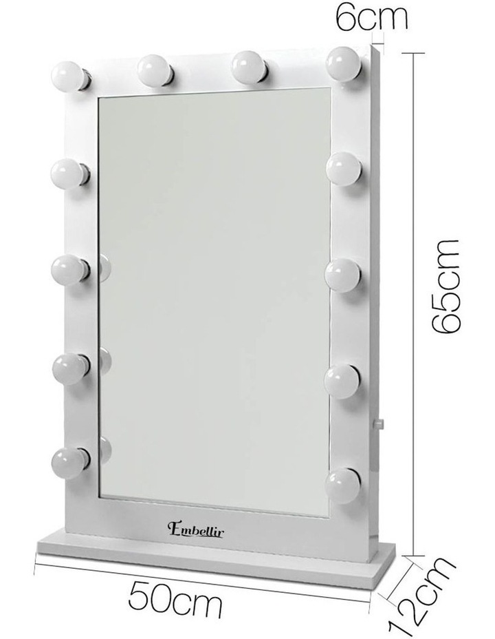 Make Up Mirror with LED Lights image 2