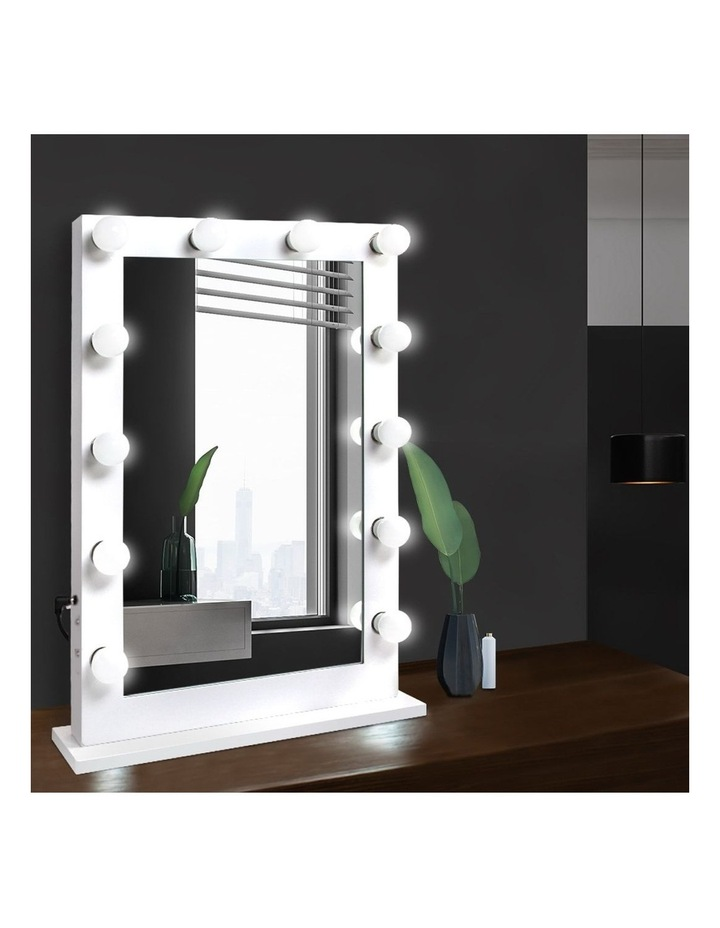 Make Up Mirror with LED Lights image 3