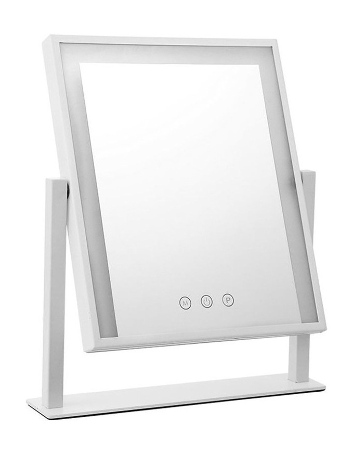 LED Makeup Mirror Hollywood Standing Mirror Tabletop Vanity image 1