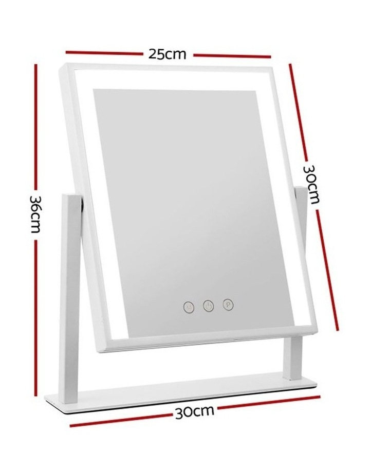 LED Makeup Mirror Hollywood Standing Mirror Tabletop Vanity image 2