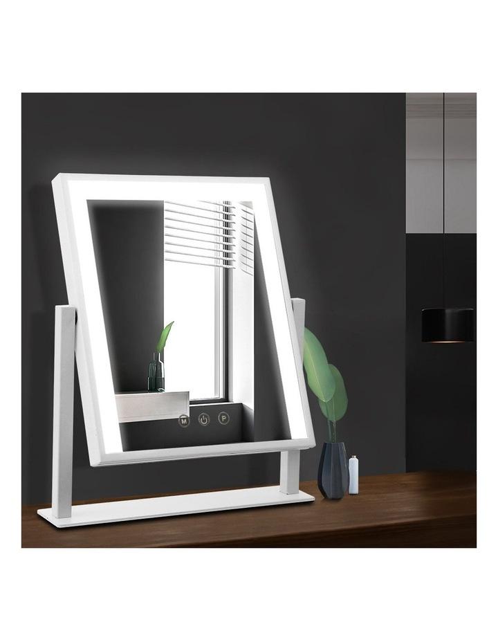 LED Makeup Mirror Hollywood Standing Mirror Tabletop Vanity image 3