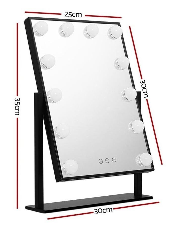 Hollywood Makeup Mirror Tabletop Vanity Mirror 12 LED Bulbs image 2
