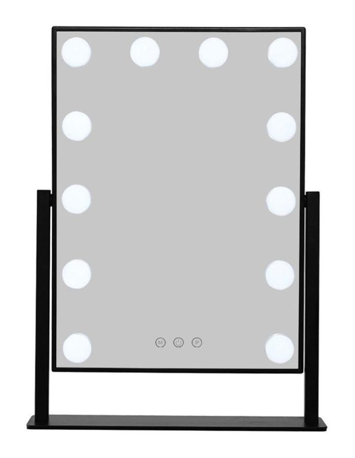 Hollywood Makeup Mirror Tabletop Vanity Mirror 12 LED Bulbs image 4