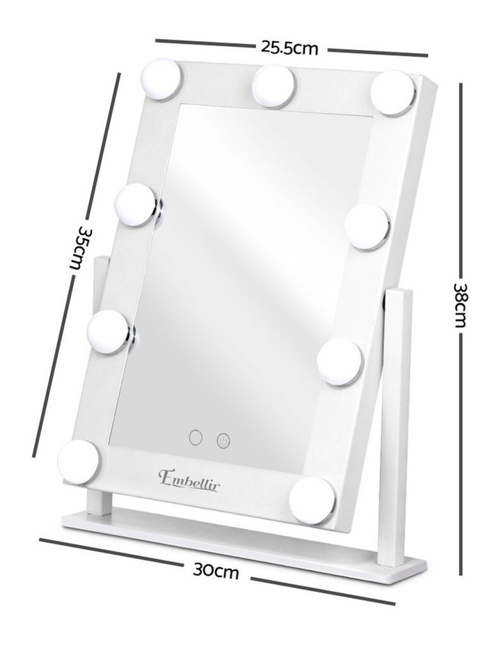 LED Standing Makeup Mirror image 2