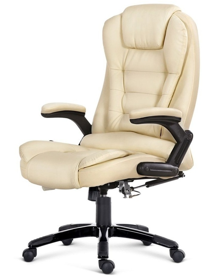 8 Point PU Leather Reclining Massage Chair image 4