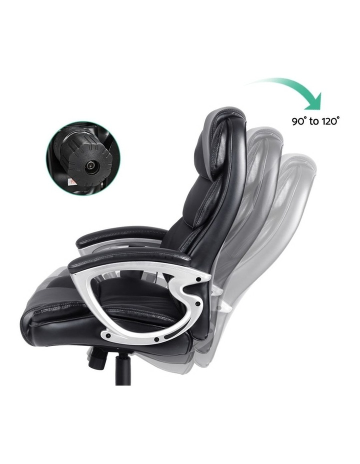8 Point PU Leather Reclining Massage Chair image 5