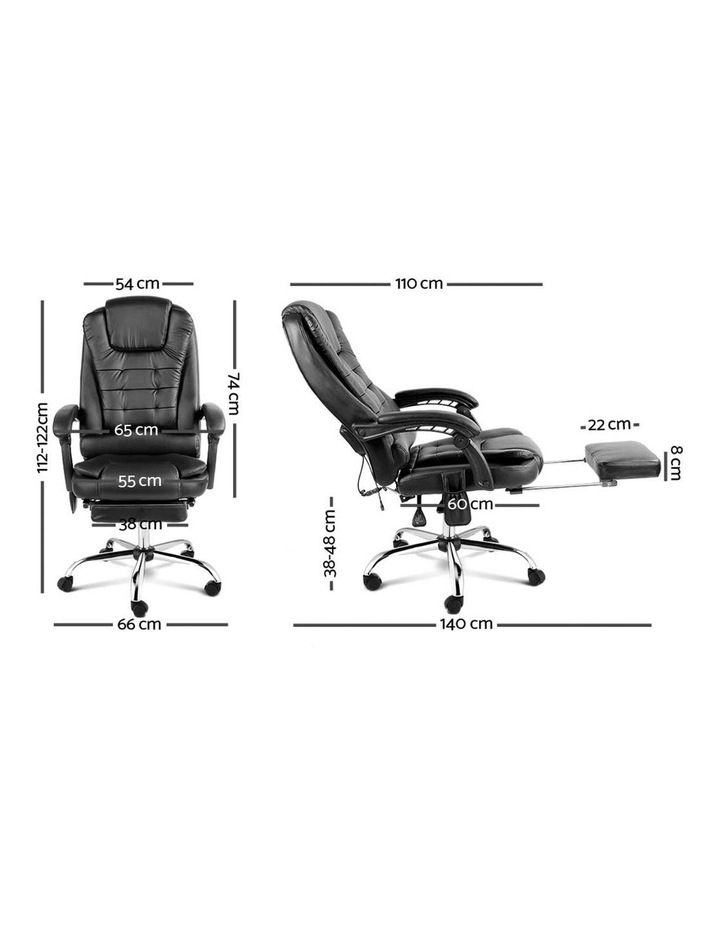 8 Point Executive Massage Office Computer Chair image 2