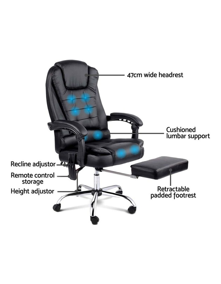 8 Point Executive Massage Office Computer Chair image 4