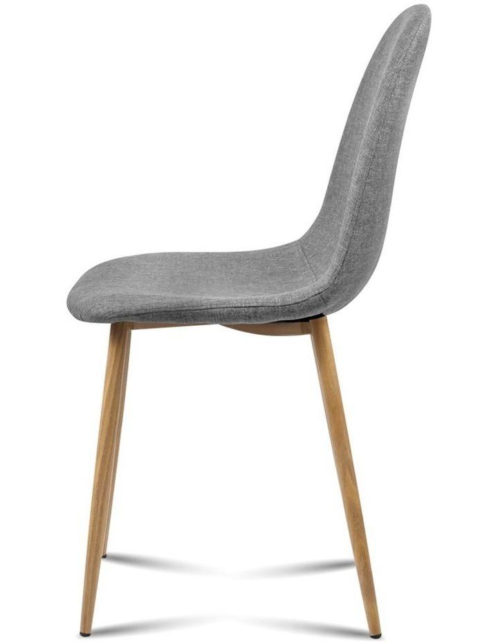 4x Adamas Fabric Dining Chairs image 5