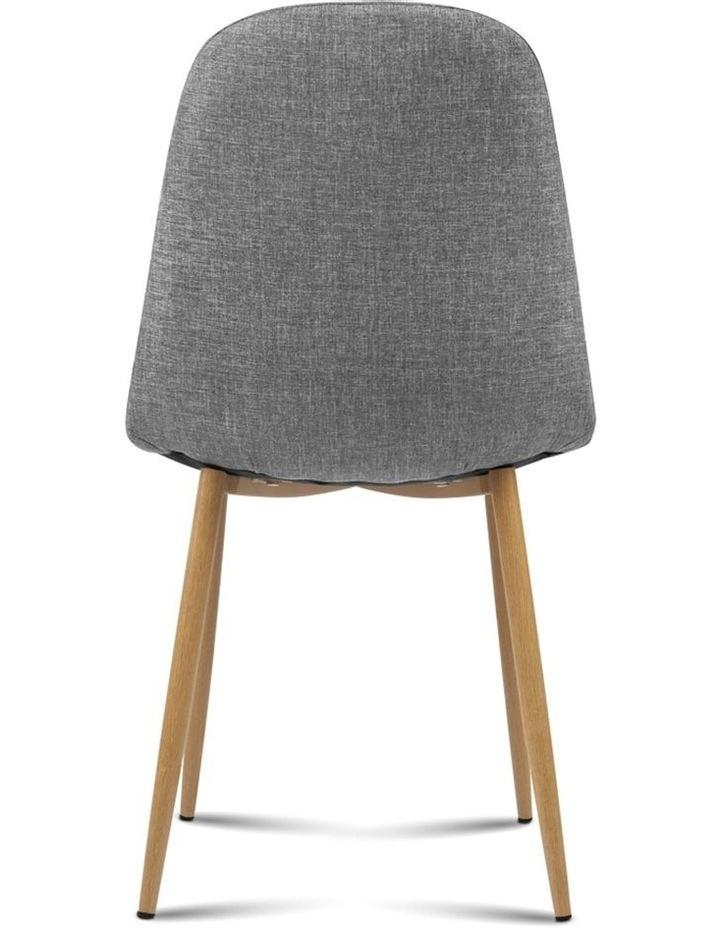 4x Adamas Fabric Dining Chairs image 6