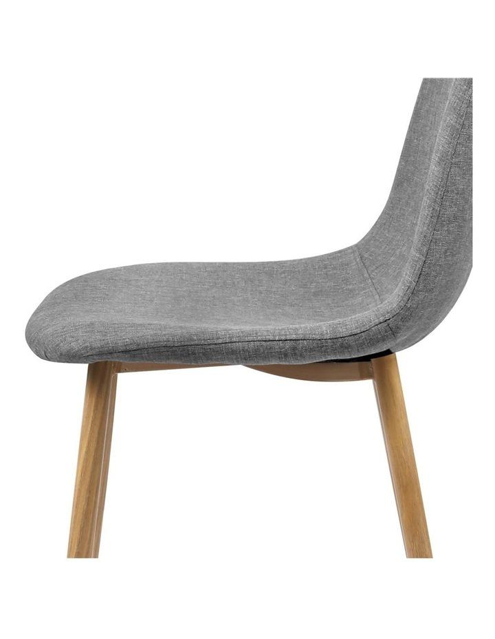 4x Adamas Fabric Dining Chairs image 7