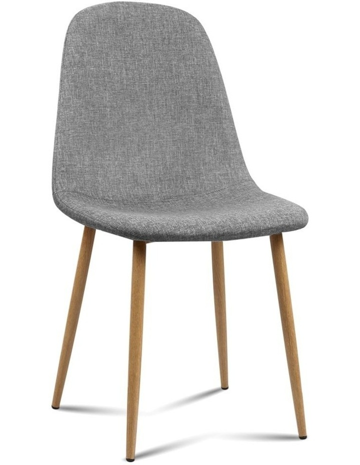 4x Adamas Fabric Dining Chairs image 1