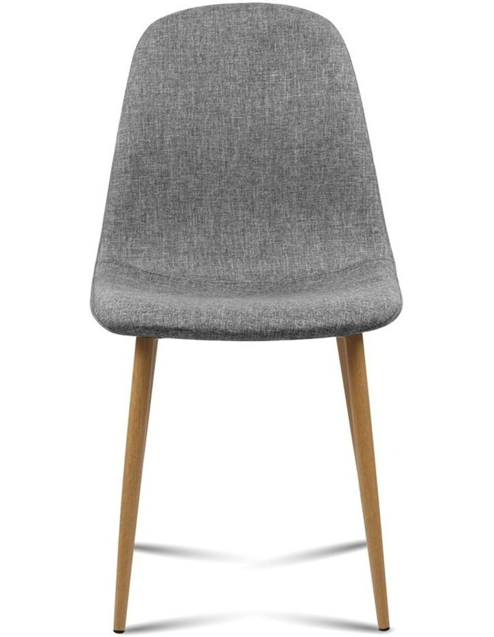 4x Adamas Fabric Dining Chairs image 4