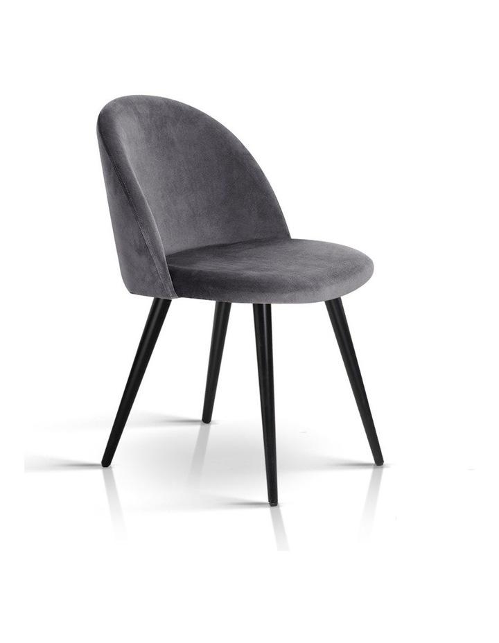 Velvet Modern Dining Chair image 1