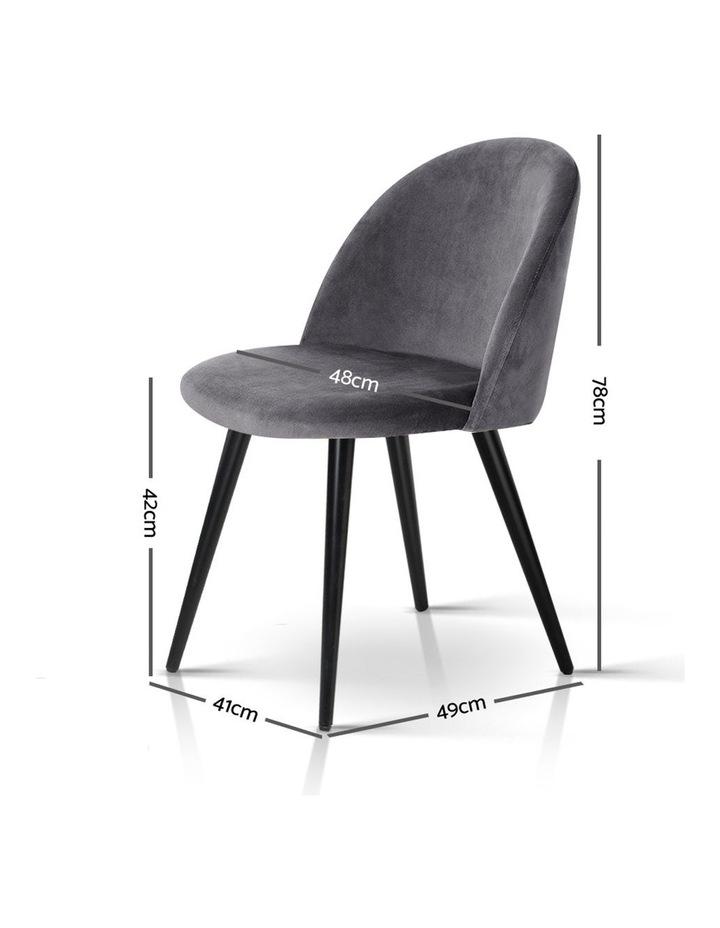 Velvet Modern Dining Chair image 2