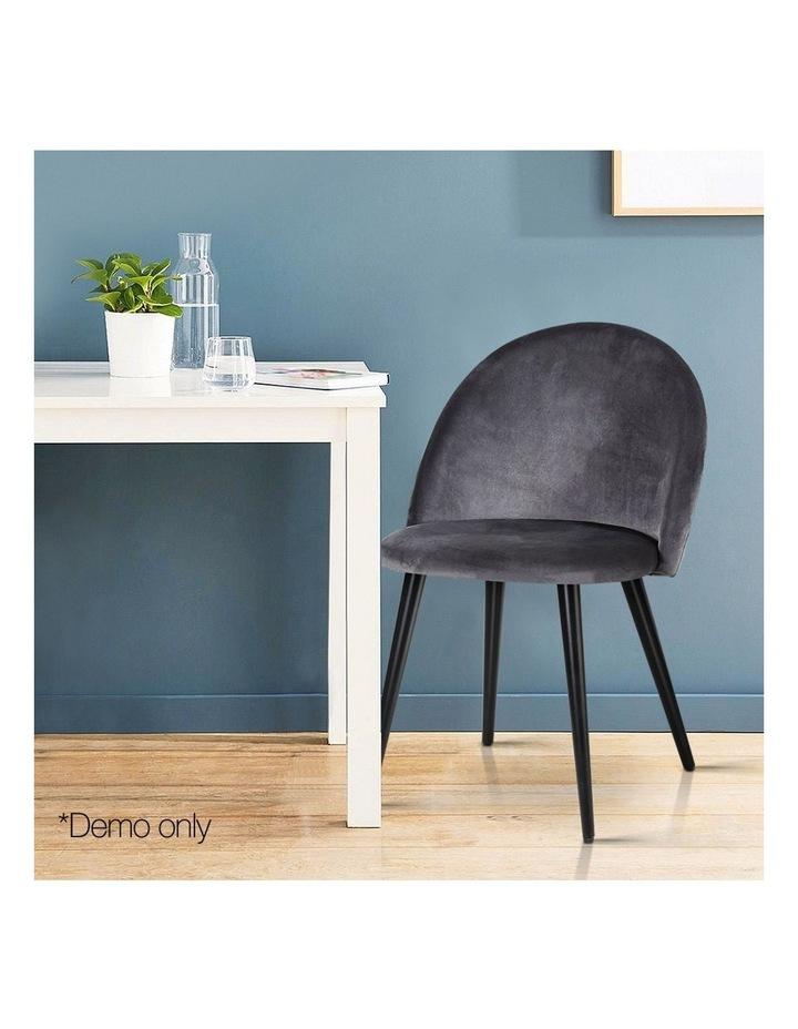 Velvet Modern Dining Chair image 3