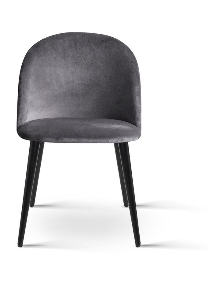 Velvet Modern Dining Chair image 4
