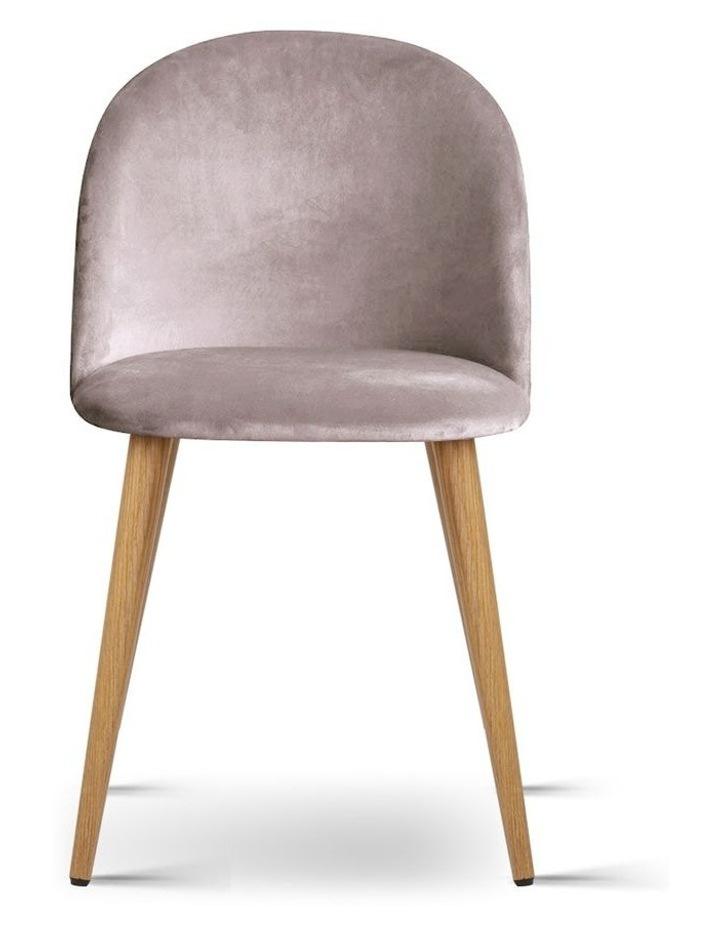 Set of Two Velvet Modern Dining Chair image 4