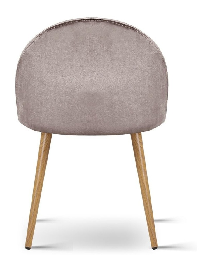 Set of Two Velvet Modern Dining Chair image 5