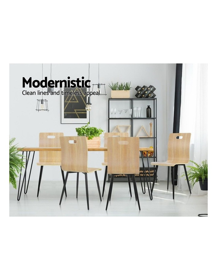 Dining Chairs Bentwood Seater image 4
