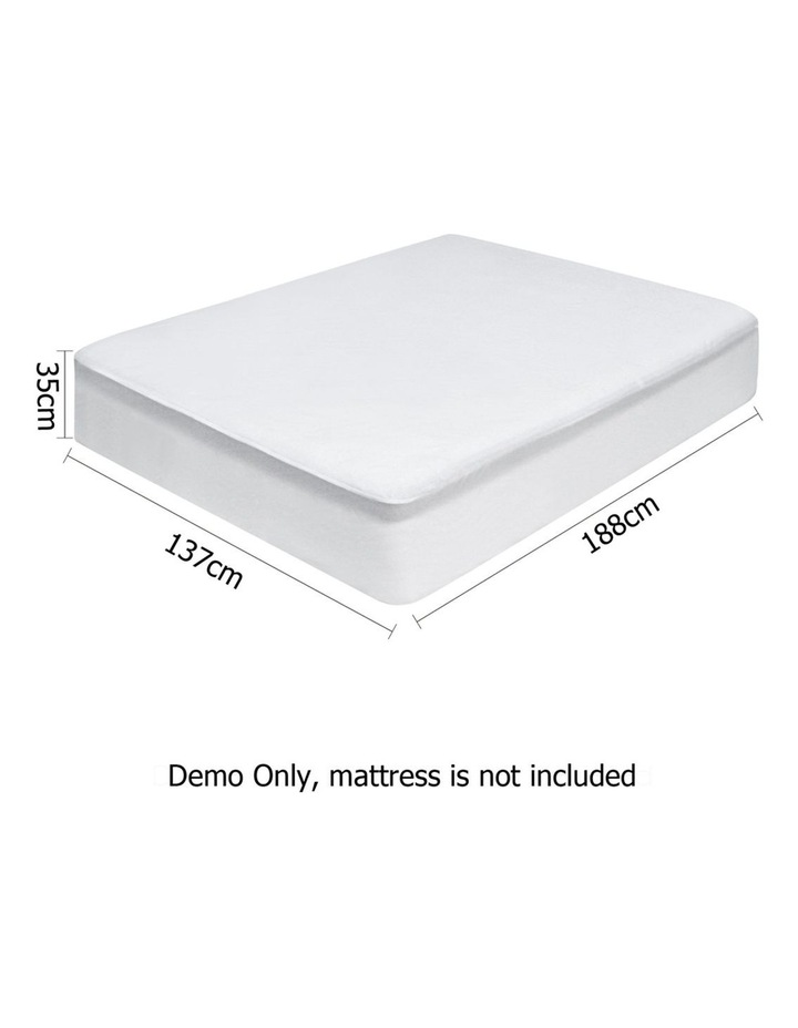 Double Size Waterproof Bamboo Mattress Protector image 2