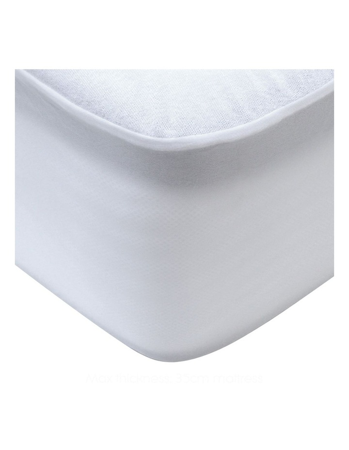 Double Size Waterproof Bamboo Mattress Protector image 3