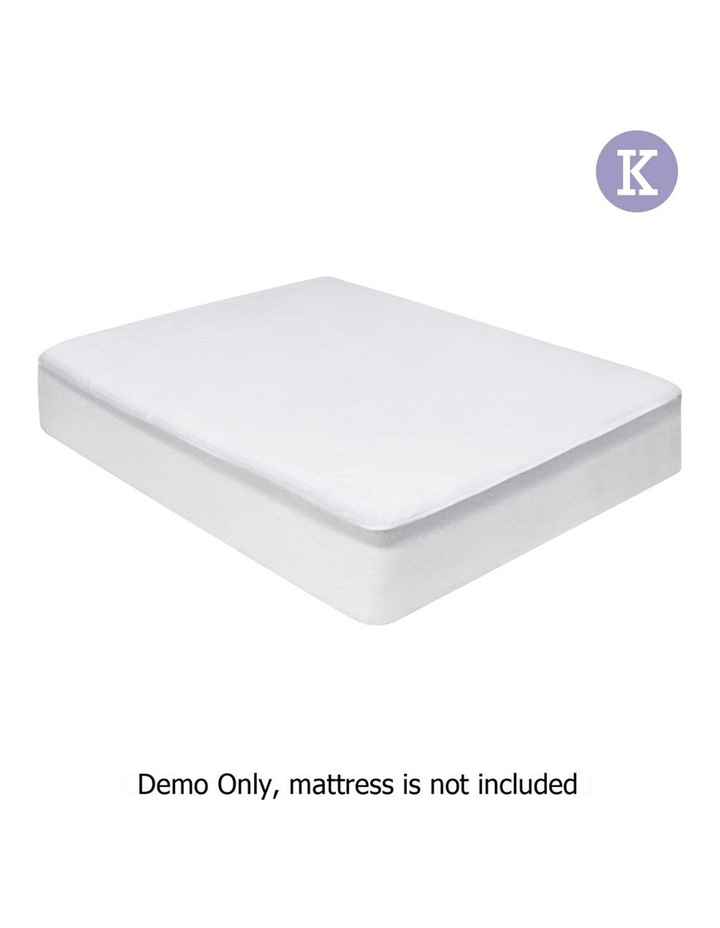 King Size Waterproof Bamboo Mattress Protector image 1