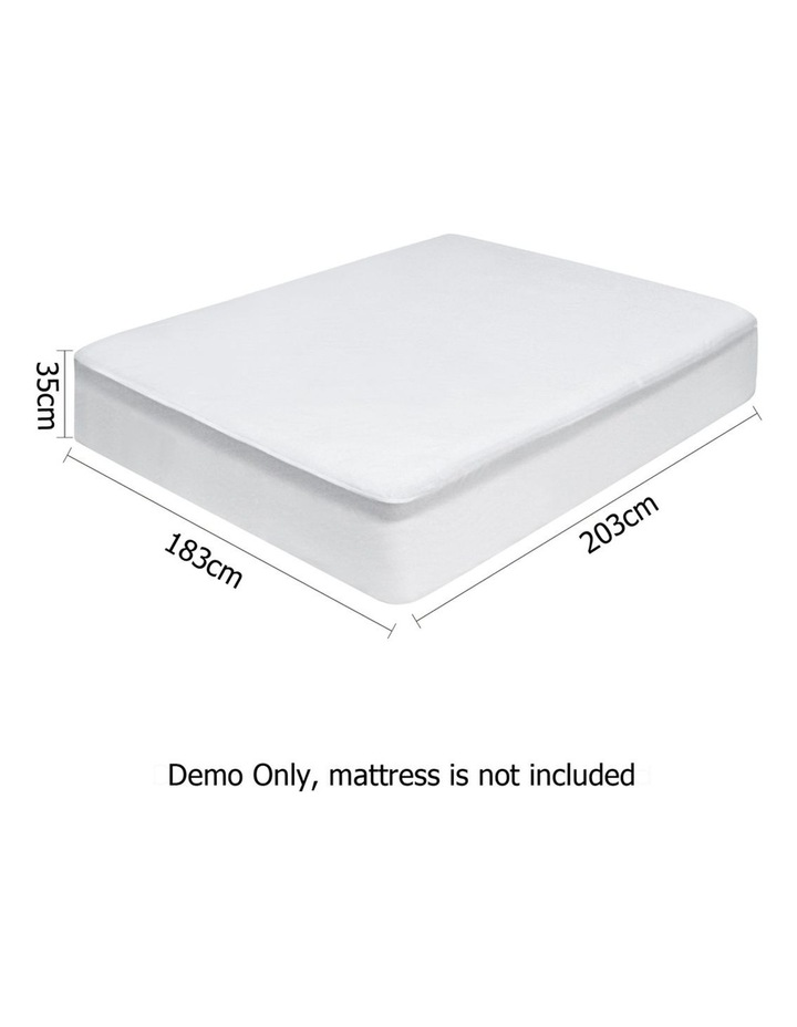King Size Waterproof Bamboo Mattress Protector image 2