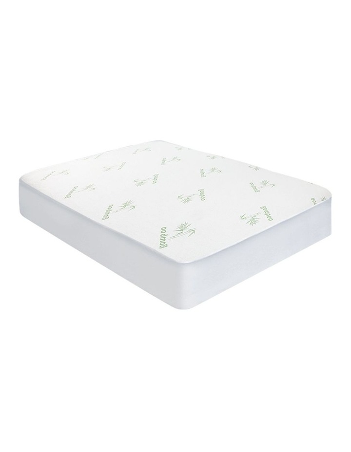 Bamboo Mattress Protector Double image 1