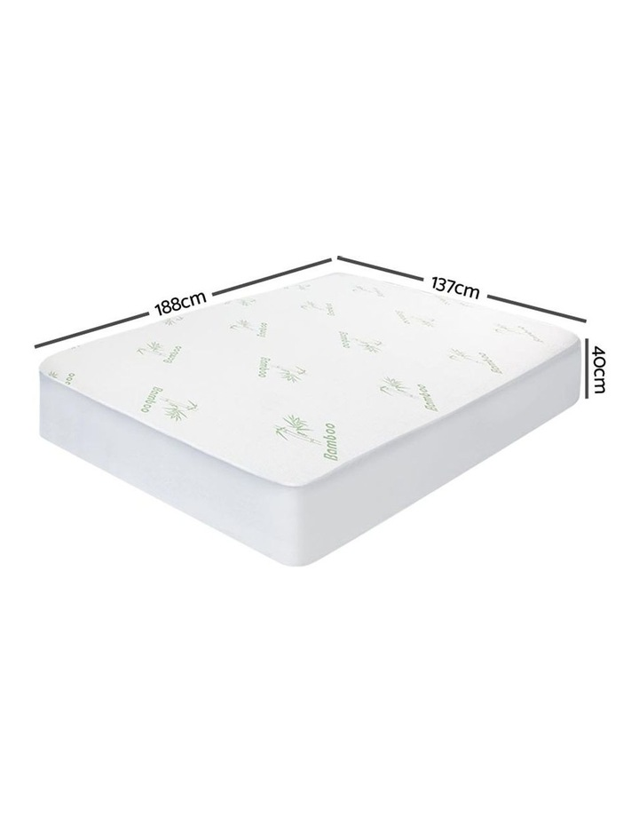 Bamboo Mattress Protector Double image 2