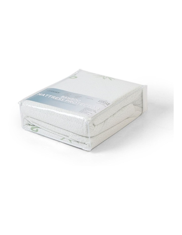 Bamboo Mattress Protector Double image 4