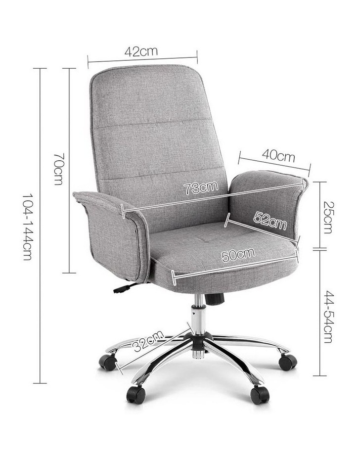 Fabric Office Desk Chair image 2