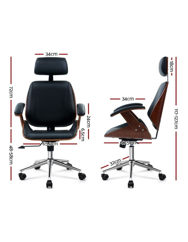 Wooden Office Chair image 2