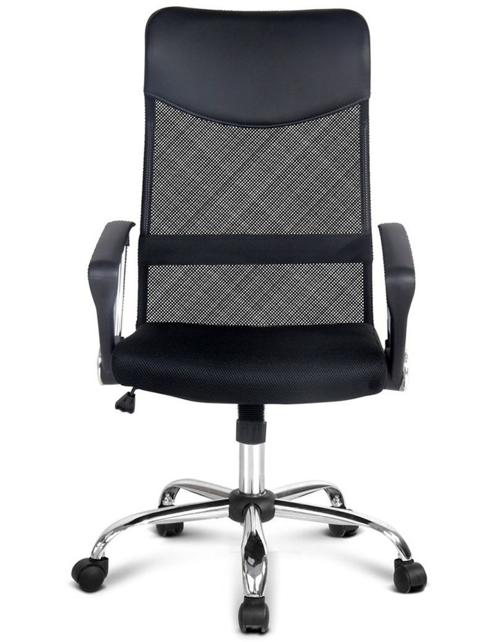 PU Leather Mesh High Back Office Chair image 4