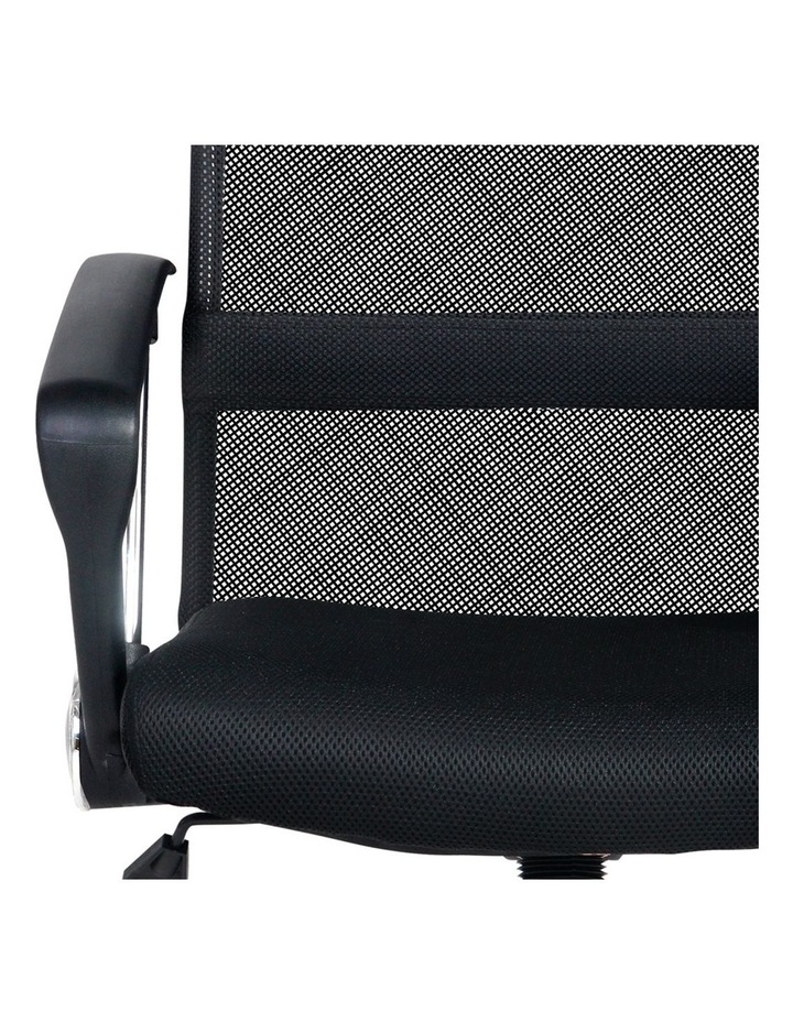 PU Leather Mesh High Back Office Chair image 6