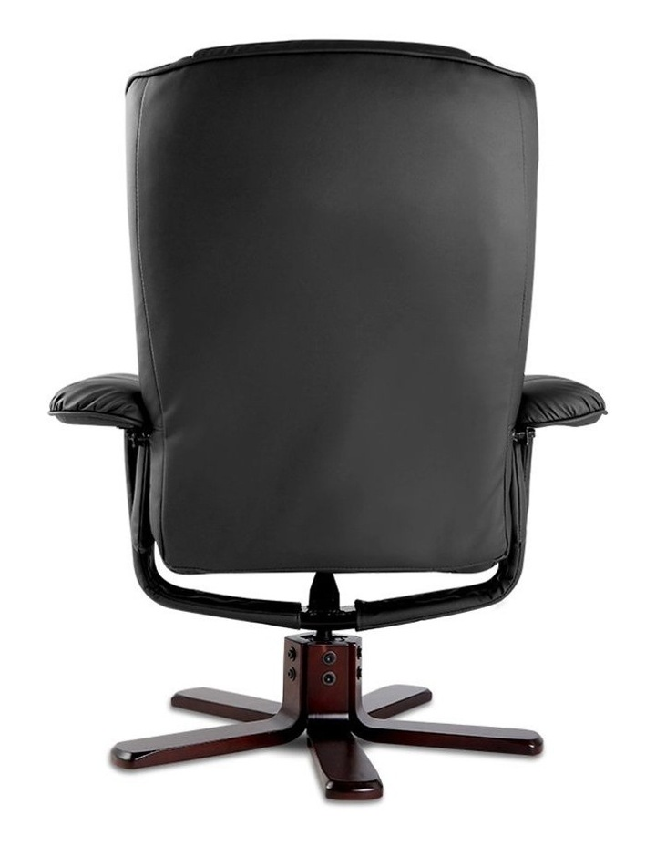 PU Leather Wood Armchair Recliner image 6