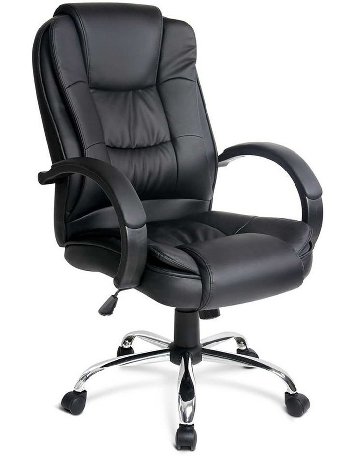 Executive PU Leather Office Desk Computer Chair image 1