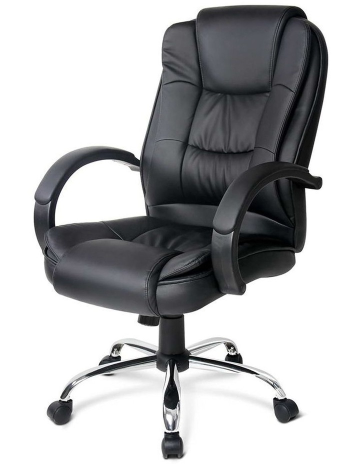 Executive PU Leather Office Desk Computer Chair image 3