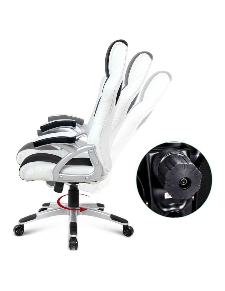 PU Leather Racing Style Office Desk Chair image 2
