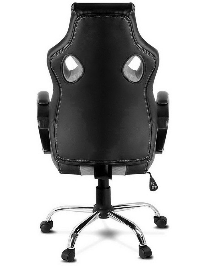 Racing Style PU Leather Office Desk Chair image 3